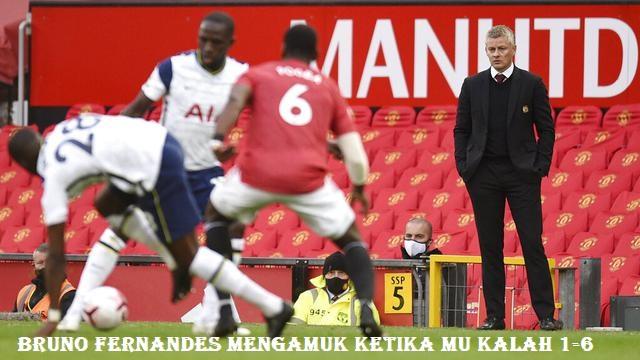 Bruno Fernandes Mengamuk Ketika MU Kalah 1-6